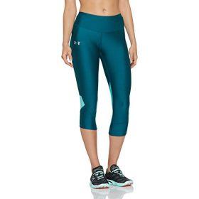 Under Armour Damen Fly Fast Capri, Tourmaline Teal, L